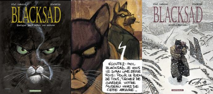 bande dessinee chat detective
