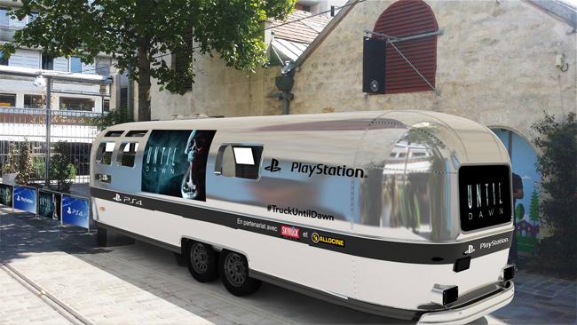 yozone until dawn fear truck paris cyberespace de l 39 imaginaire. Black Bedroom Furniture Sets. Home Design Ideas